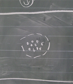 chalk-circle